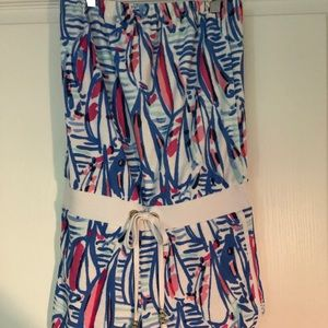 Lilly Pulitzer romper coverup